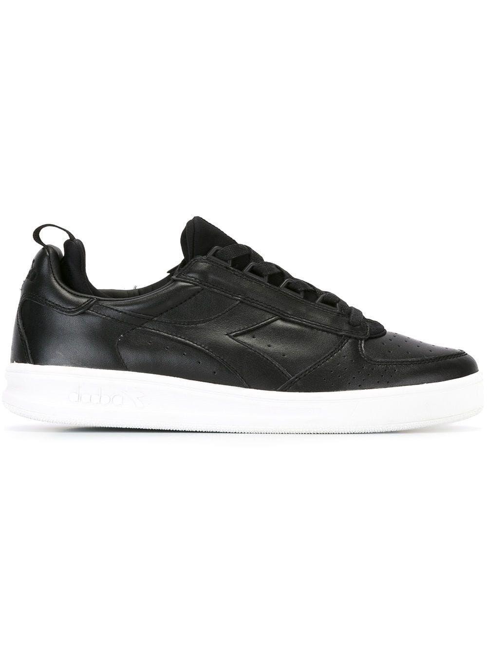 Diadora Lace-up Sneakers - Black | ModeSens