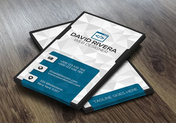 51 best free psd business card templates to download design desk free psd business card template wajeb Image collections