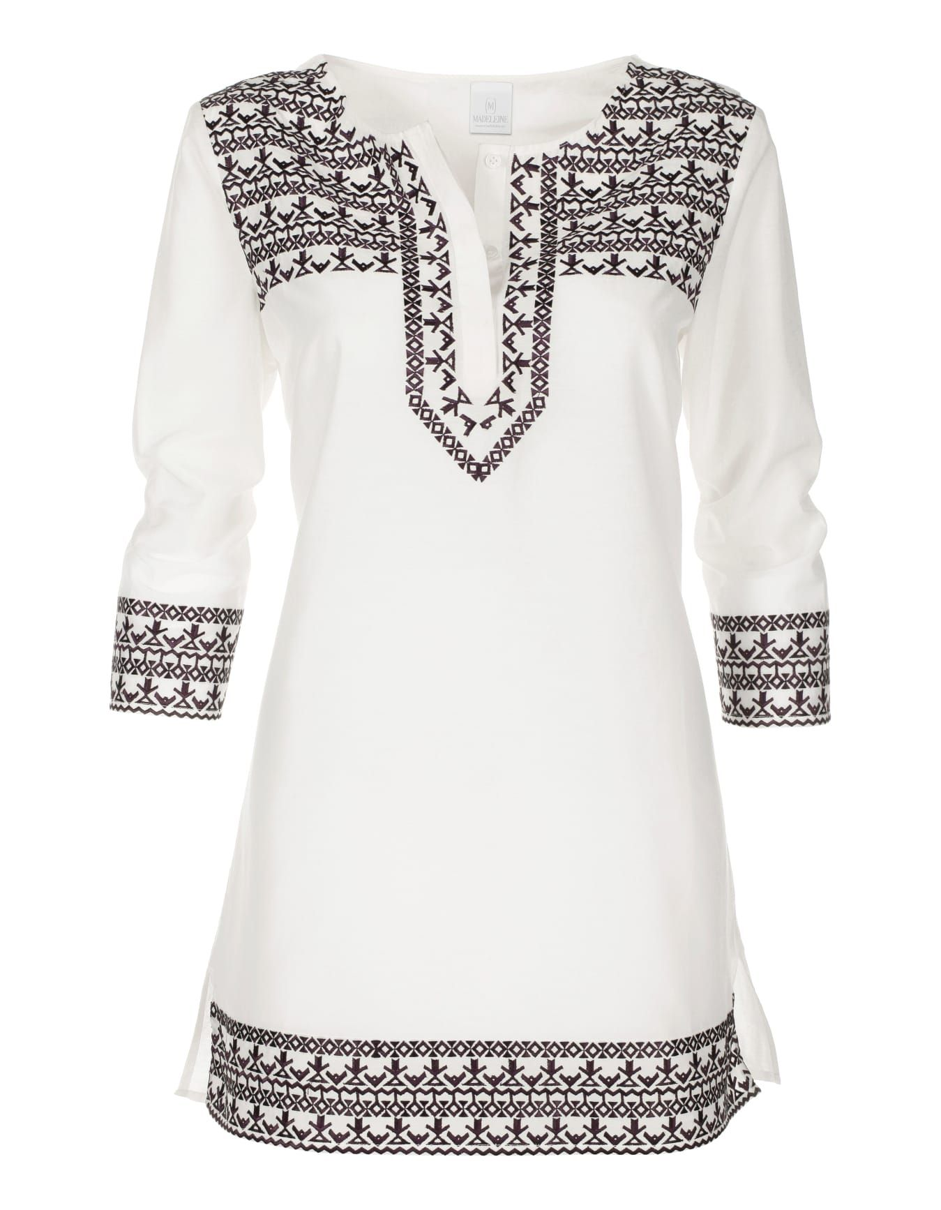 Casual ontrend tunic with folkloristic charm the intricate exotic