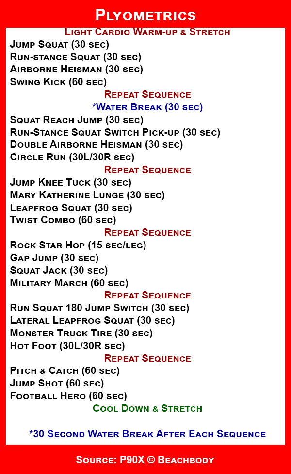 Célèbre Plyometrics. Just did this work out- it is awesome! A total  ZC32