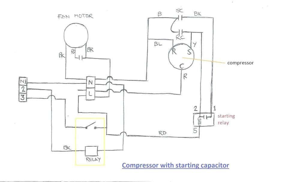 12 Baldor Electric Motor Capacitor Wiring Diagram Wiring Diagram Wiringg Net Diagram Ac Compressor Compressor