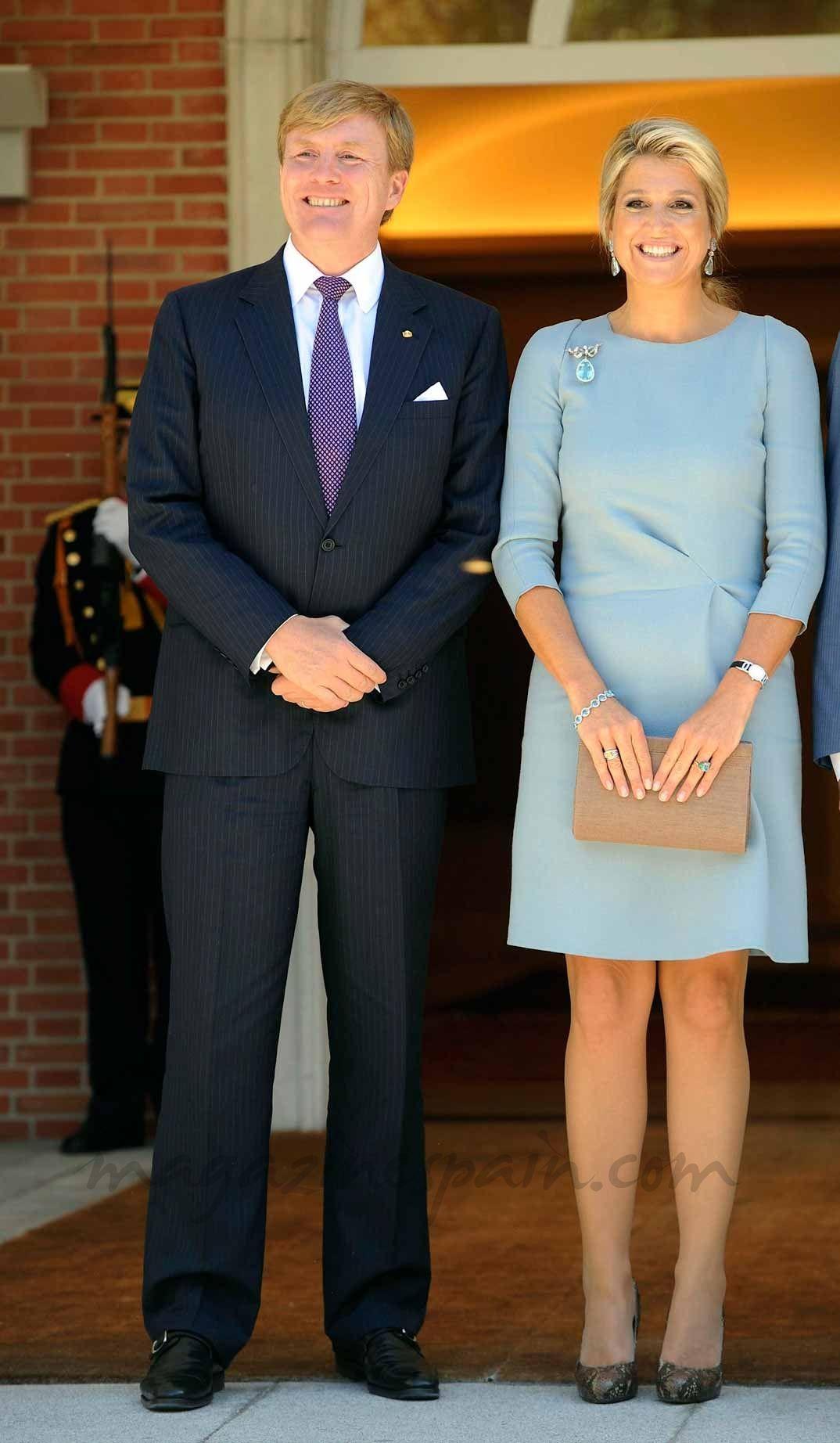 Vestidos de reina maxima
