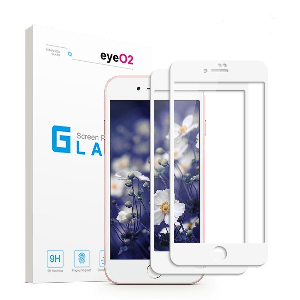 Eyeo2 screen protector for iphone 7 plus 8 plus white 2