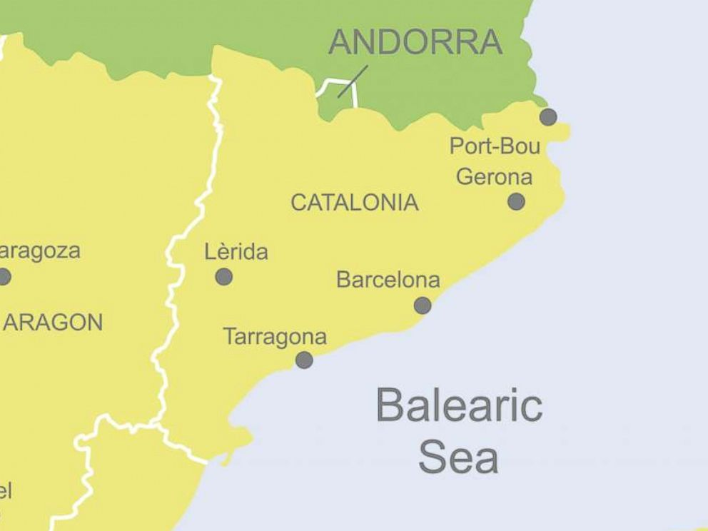 Map Of Spain And Catalonia.What You Need To Know About The Catalan Independence Referendum