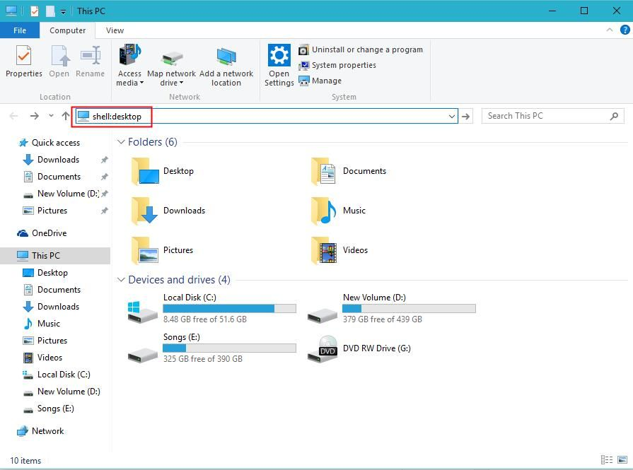 How to Pin Recycle Bin to Quick Access in Windows 10 (With