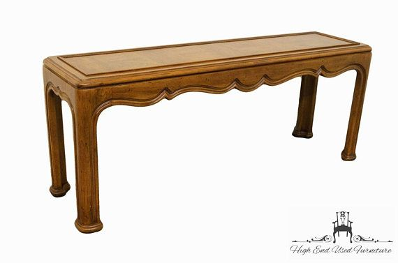 Tremendous Henredon Country French Regency Parquet Top 65 Sofa Table Short Links Chair Design For Home Short Linksinfo