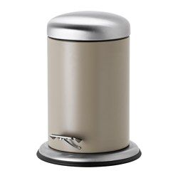 IKEA   MJÖSA, Pedal Bin, The Bin Is Easy To Move Since It Has A Handle On  The Back.Easy To Empty And Clean As The Inner Bucket Can Be Removed.