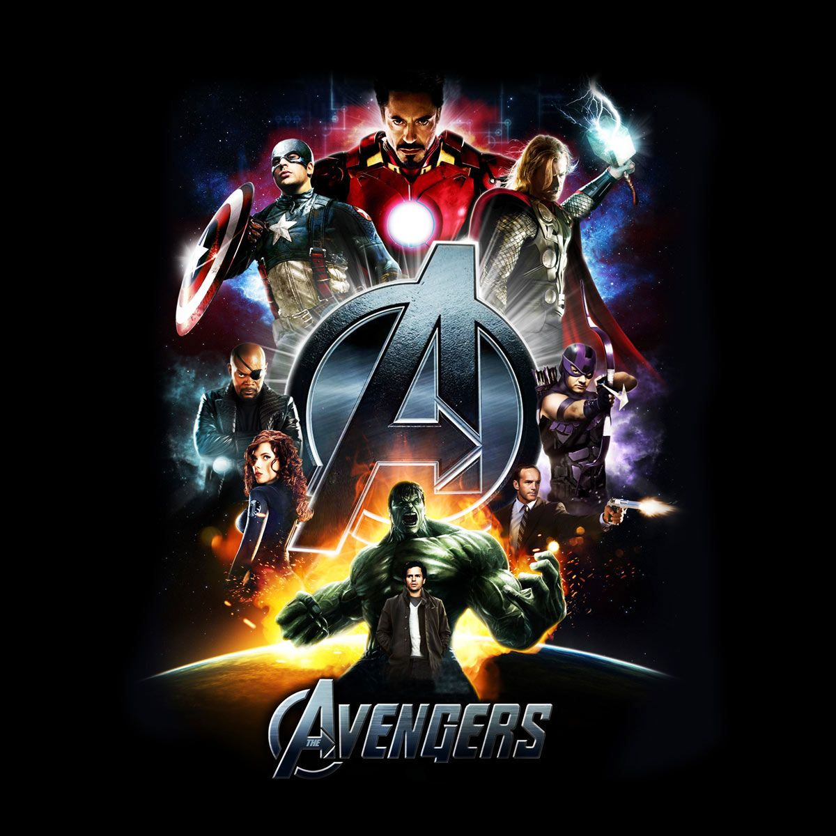 Camiseta Los Vengadores (The Avengers). Personajes, Hulk
