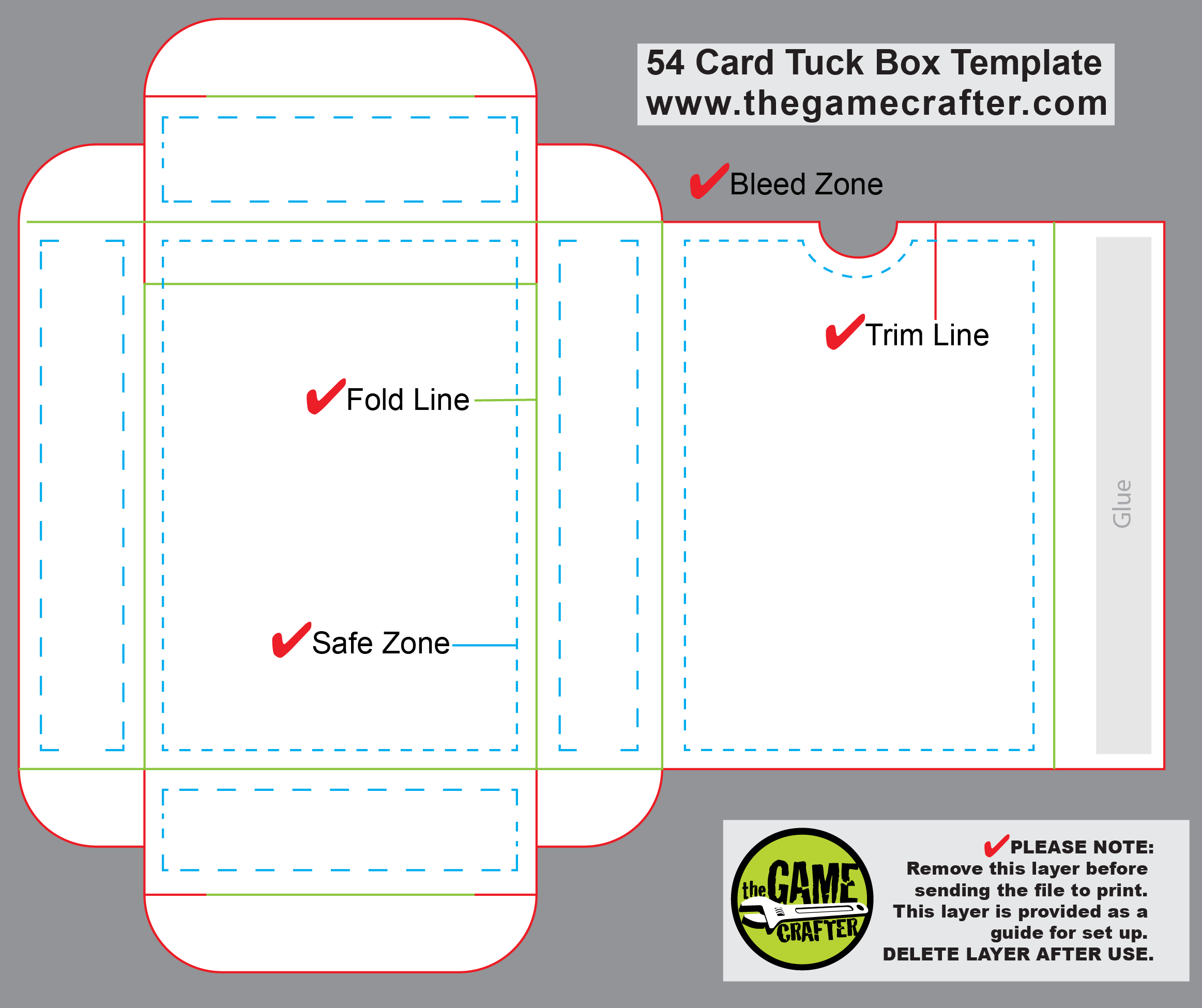 Poker Tuck Box 54 Cards Playing Card Box Cards Playing Cards Design