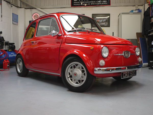 FIAT 500 TV \'Giannini\' – Perfectly Protected | Vehicle | Pinterest ...