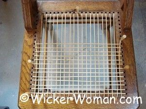 Pin By The Wicker Woman Weaving Tip On Craft Diy Tutorials Caning Woven Chair Diy Chair