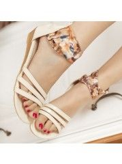 Sweet Campus Casual Street  Pu Wedge-sandal