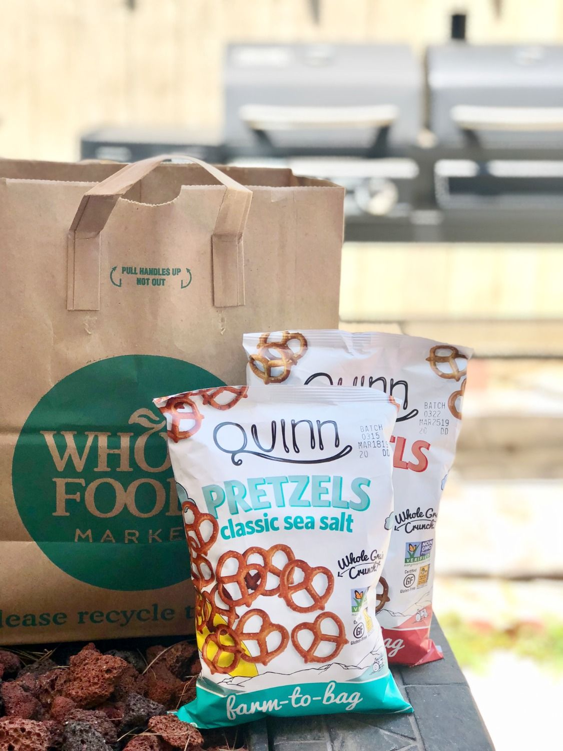 Quinn Pretzels now available at Whole Foods nationwide