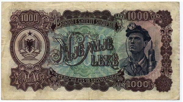 Albanian Currency Leke 1 Usd 126 48 Lek