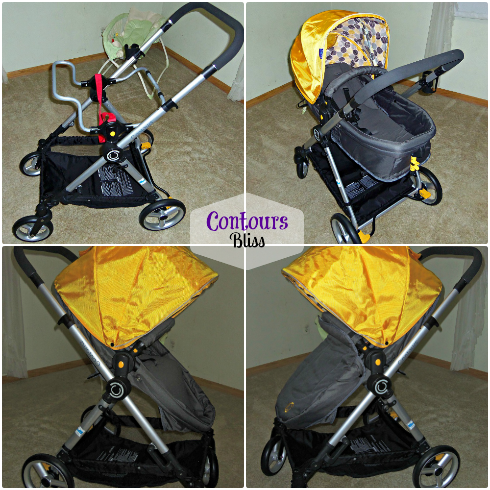 Contours Bliss An Amazing 4in1 Stroller! ContoursBaby