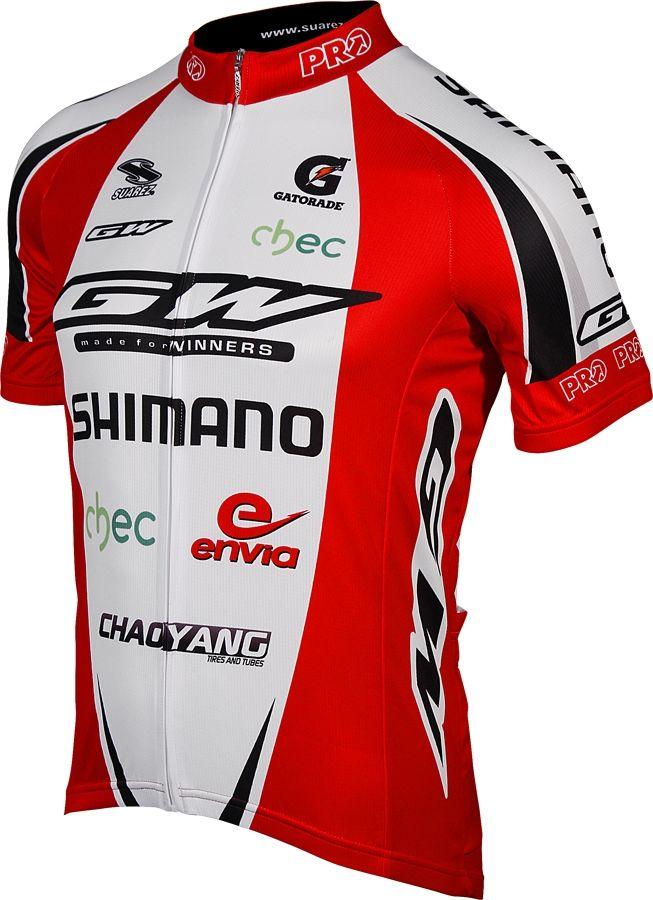 19c3211ed GW Shimano Team Mens Cycling Jersey