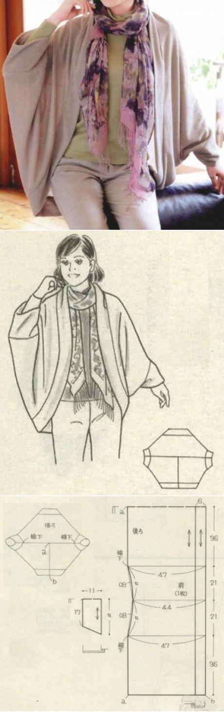 Los patrones simples | las cosas simples | Tejidos y Costuras ...