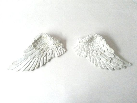 Wings Wall Decor angel wings, wall decor, wall art, wall hanging, small angel wings