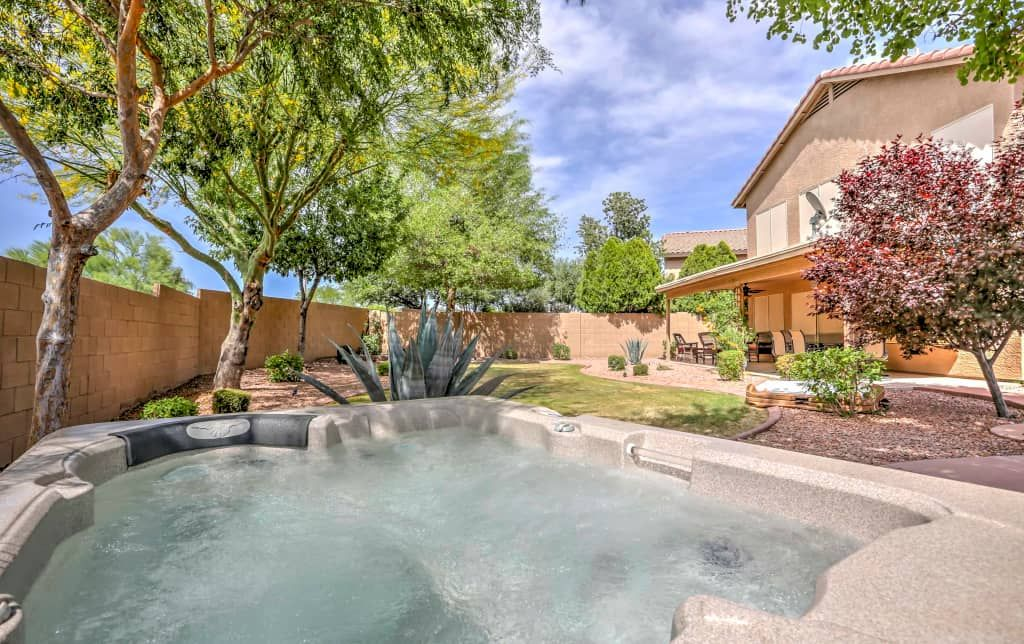 New 4br Surprise House W Hot Tub Outdoor Patio Phoenix