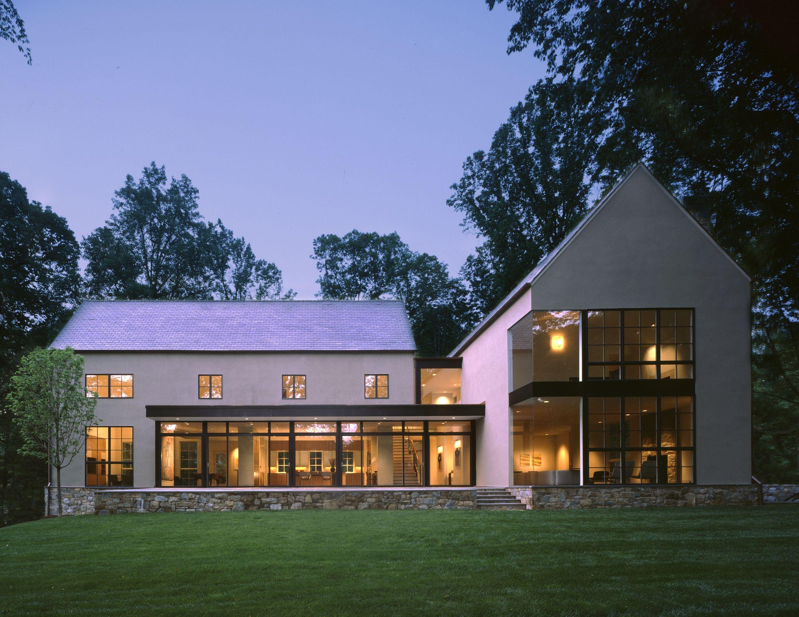 Modernes bungalow innenarchitektur wohnzimmer piotr schnieder piotrschnieder on pinterest