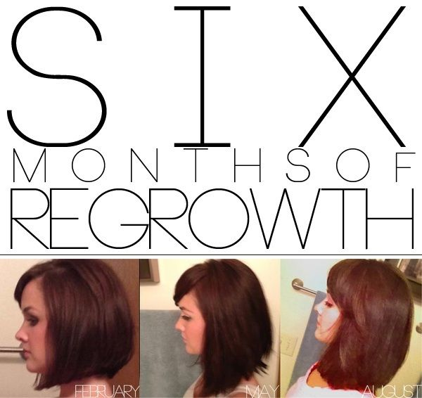 Six Months Of Regrowth Growing Out My Inverted Bob Hair Beauty Hair Hair Styles
