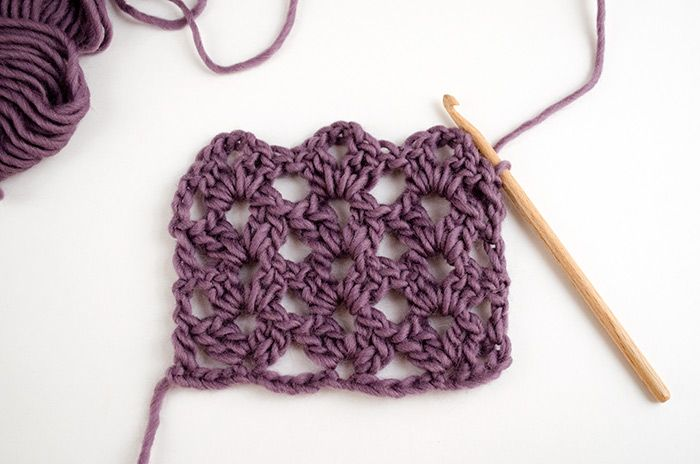 Comment crocheter en point ajouré | Muschel, Muster und Häkeln