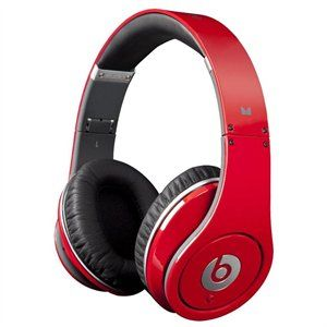 Beats By Dr Dre Studio High Definition Headphones From Monster Red 1 Of 4 Ultrabookstyle Beats Headphones Headphones Beats Studio