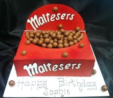 Maltesers Cake Fantastic CAKES Pinterest Birthday cake design