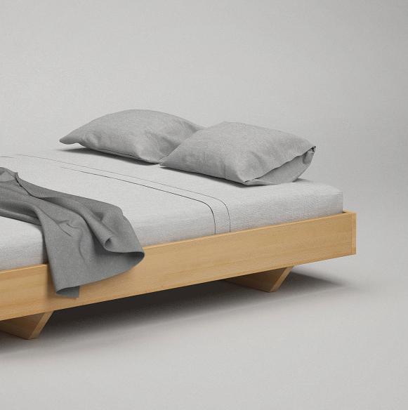 Neues Schwebebett Ohne Kopfteil In Unserem On Line Shop Massivholz Bett Frohraum Schlafzimmer Schwebebett Schwebendes Bett Bett