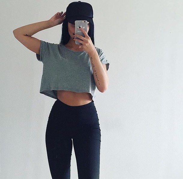 adidas, beauty, body, cap, fashion, fit, girl, grey,
