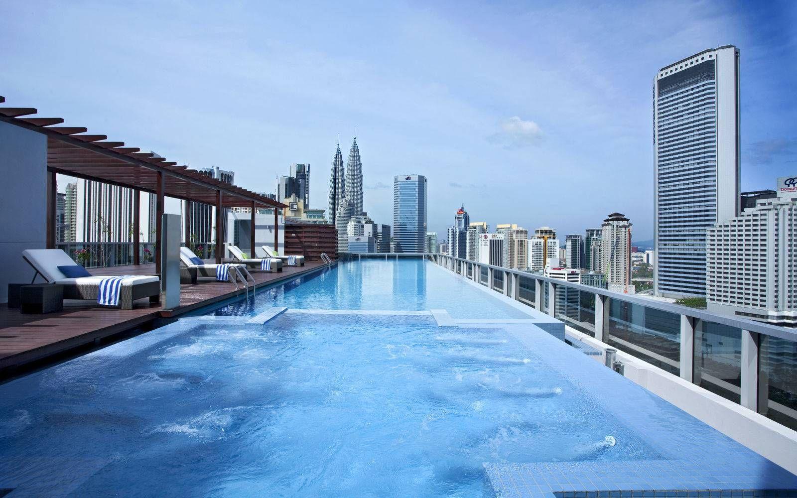 Best Rooftop Pools In Kl Rooftop Pool Hotel Kuala Lumpur Pool