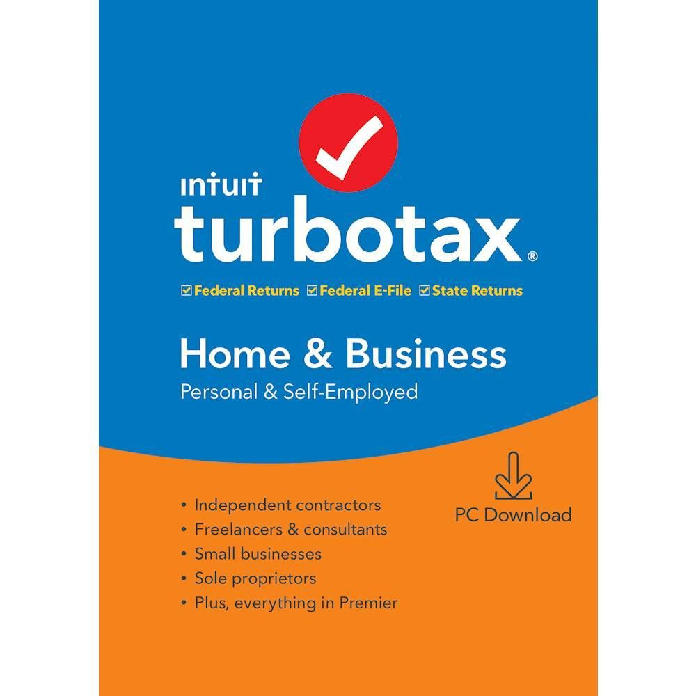 Turbotax Home Business Federal State 2019 Windows Digital Int940800v507 Best Buy In 2020 Turbotax Tax Software Mac Download