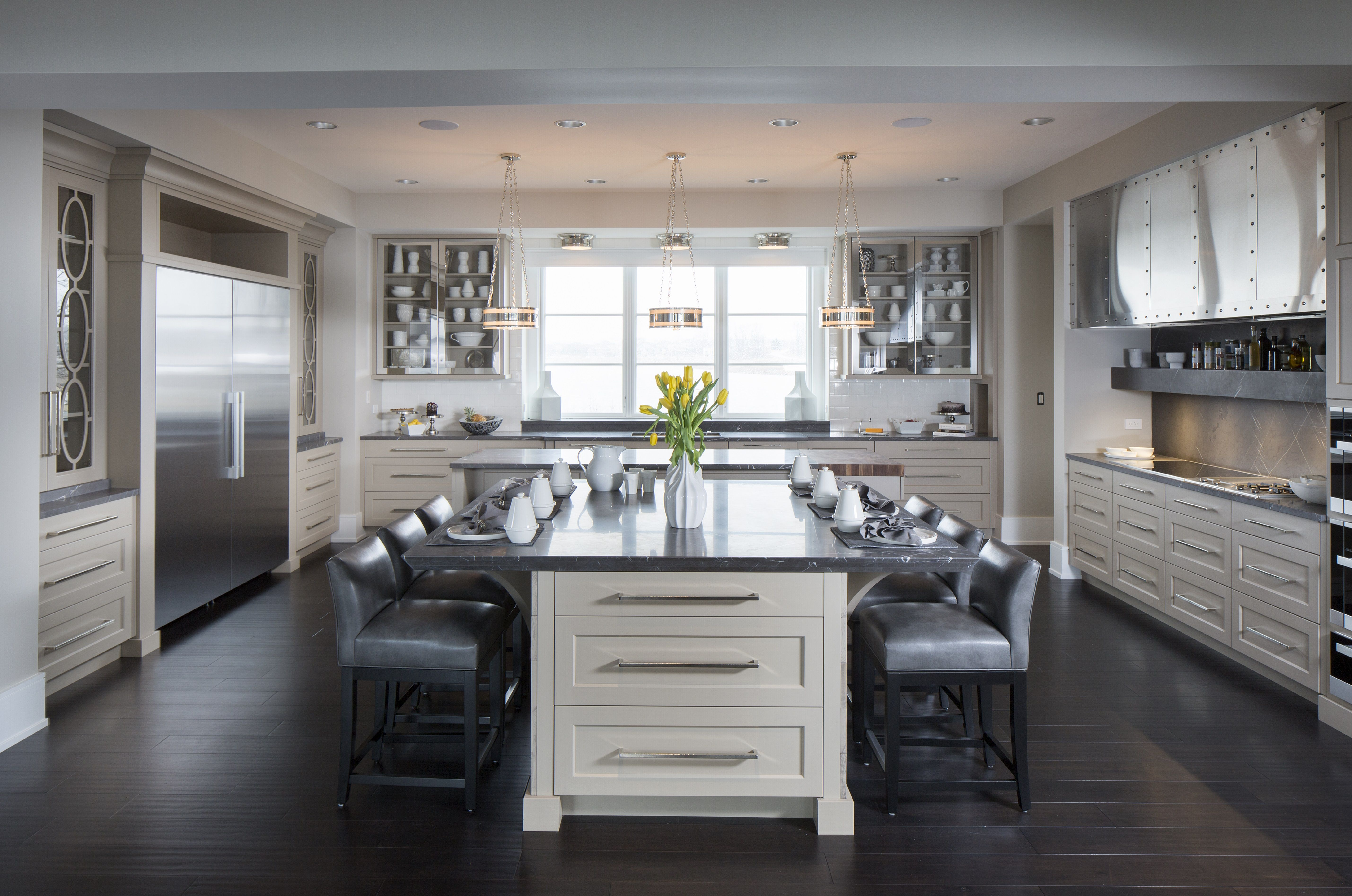 Contemporary kitchen Kitchens by Design, Indianapolis