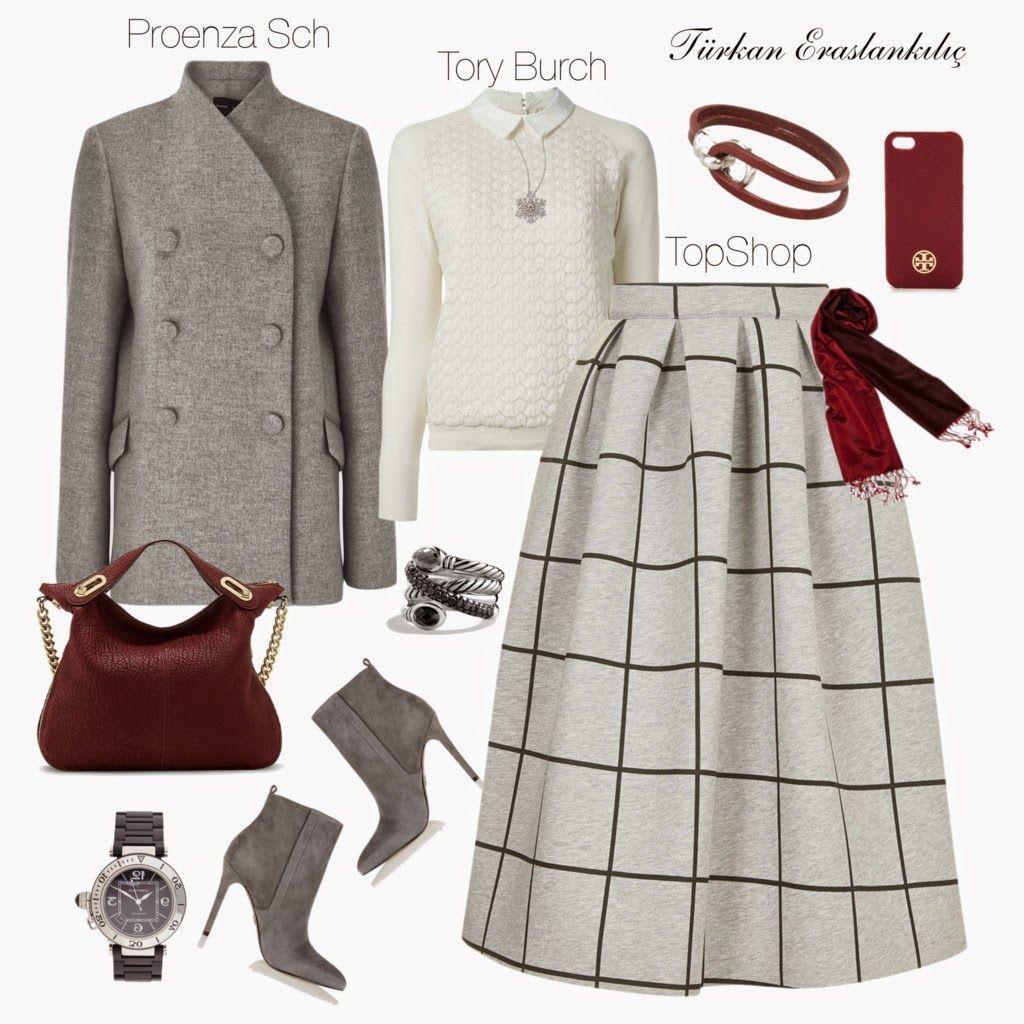 Tesettur Giyim Kombinleri Mutevazi Kiyafetler Giyim Tarz Moda