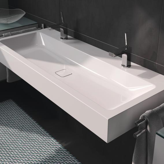 Wandwaschtisch Mit 2 Hahnlochern Bath Room House Interior In 2019
