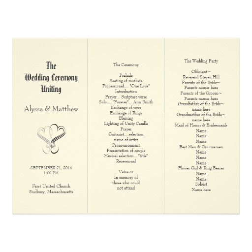 1000+ Images Printable Wedding Programs Pinterest, Explore