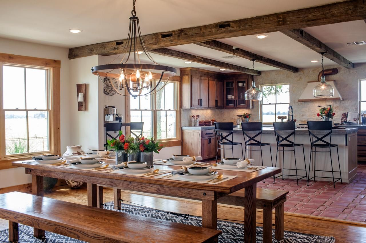 Joanna\'s Design Tips: Southwestern Style for a Run-Down Ranch House ...