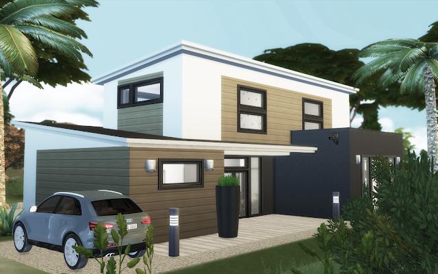 Belle Maison Sims 4 A Telecharger Maison Sims Sims 4 Maison Belle Maison