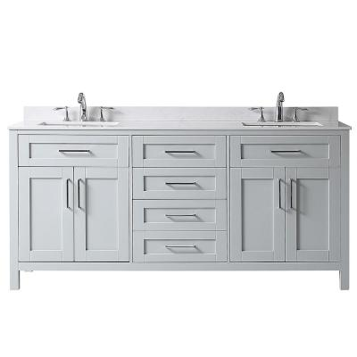 Home Decorators Collection Riverdale 72 In W X 21 In D Vanity In