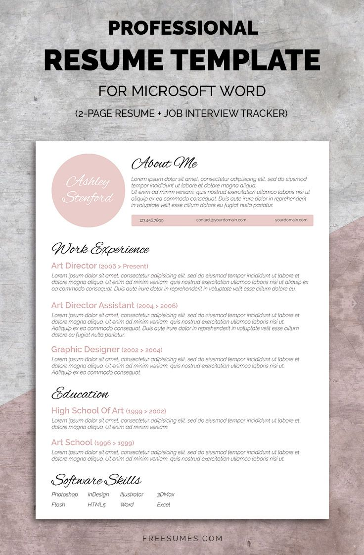 Resume Template Pack - Resume template, Resume design, Resume template professional, Resume, Cover letter for resume, Feminine resume - Make your resume instantly noticeable with this complete resume template pack featuring a feminine touch  Stand out from the crowd!