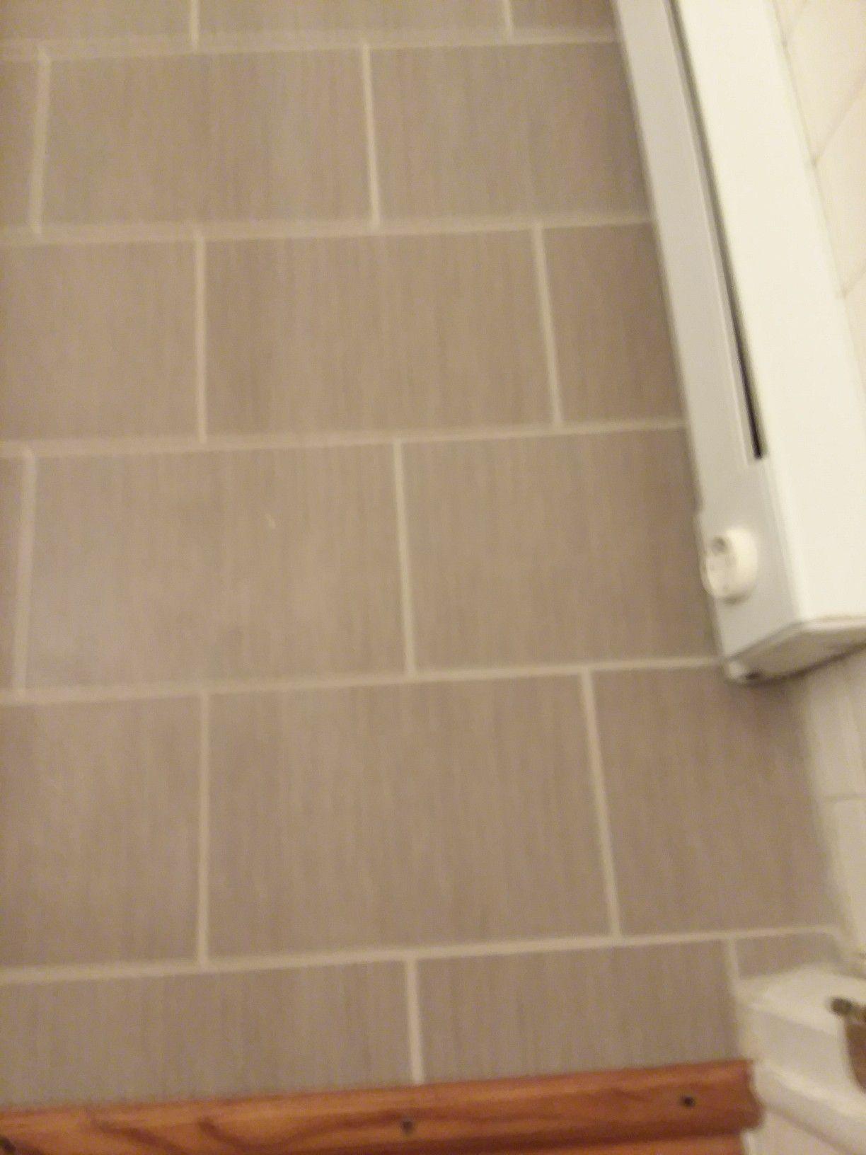 Day after grouting.... Bathroom flooring, Flooring, Tiles