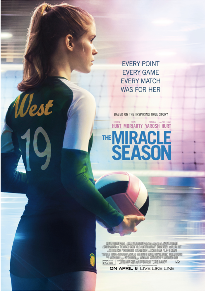 Top 50 Christian Films The Miracle Season Live Like Line Volleyball Inspiration