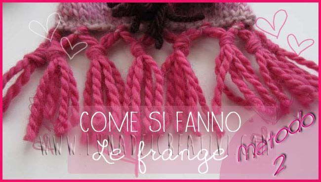 autentica di fabbrica 79ac9 ea0f7 Come fare delle frange originali alla tua sciarpa ...