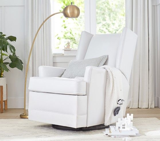 Modern Wingback Swivel Glider Amp Recliner In 2020 With