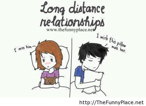 Long Distance Relationships Situation Funny Pictures Awesome