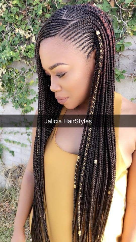 Beautiful Fulani Inspired Braids And Hairstyles