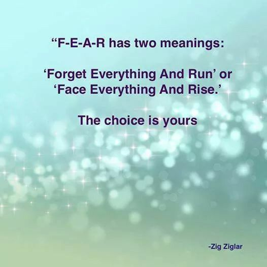 F-E-A-R