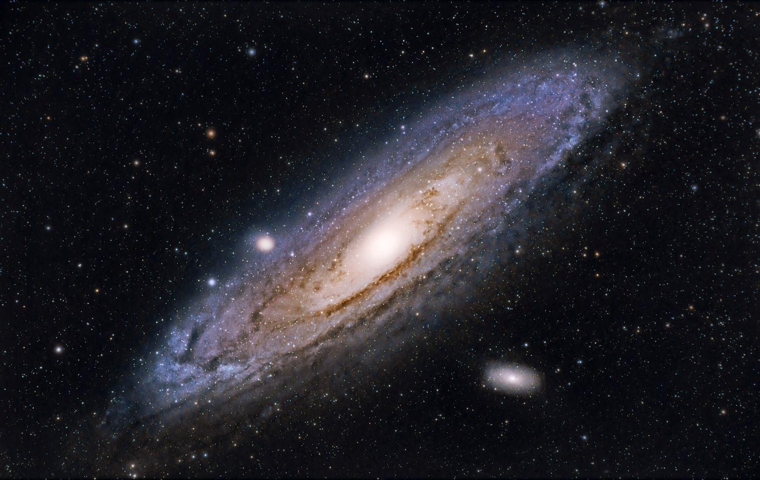 Andromeda Galaxy 1536 970 Andromeda Galaxy Hd Galaxy Wallpaper Milky Way Galaxy