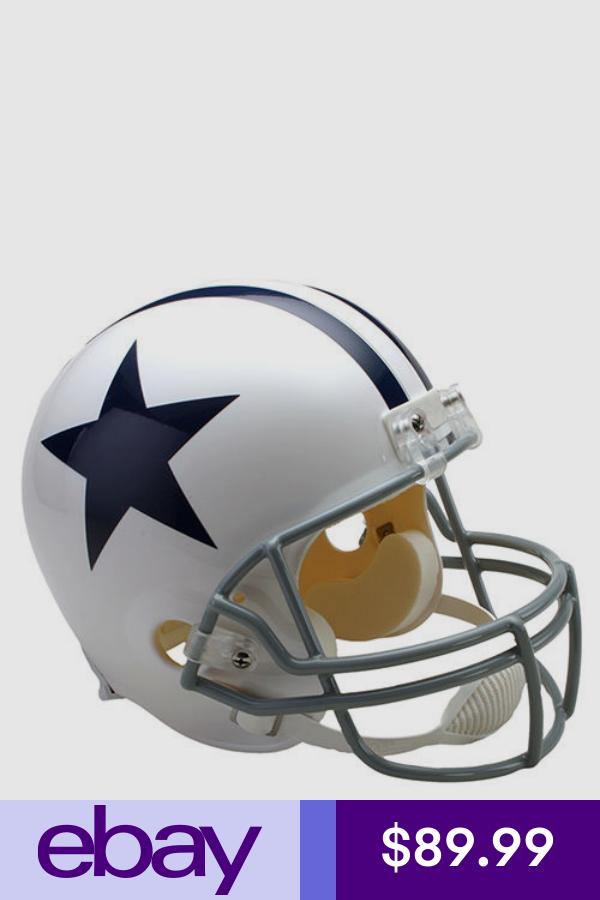 Football Nfl Sports Mem Cards Fan Shop Ebay Football Helmets Cowboys Helmet Dallas Cowboys