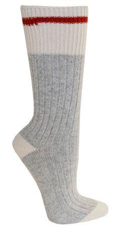 Size 4-10 Natural Gray//Denim Women/'s Kodiak Hiking Socks 2 Pack